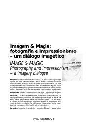 IMAGE & MAGIC Photography and Impressionism - Unimep