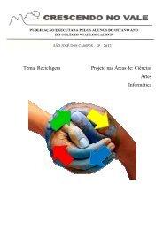 Revista Crescendo no Vale Reciclagem 2012 - Colégio Saloni