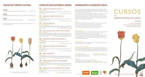 Folheto dos Cursos no Jardim Botânico da Ajuda 2011/2012 (pdf)