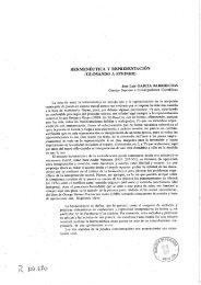HERMENEUTICA Y REPRESENTACIÓN - digital-csic Digital CSIC