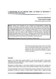 31 O HOMOEROTISMO EM CAIO FERNANDO ABREU ... - FACEVV