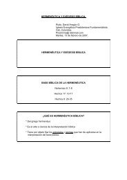 Hermeneutica y Exegesis Biblica.pdf - Iglesia Presbiteriana ...