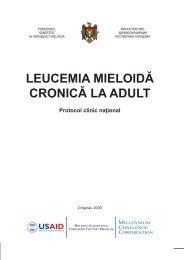 LEUCEMIA MIELOIDĂ CRONICĂ LA ADULT Protocol clinic naţional