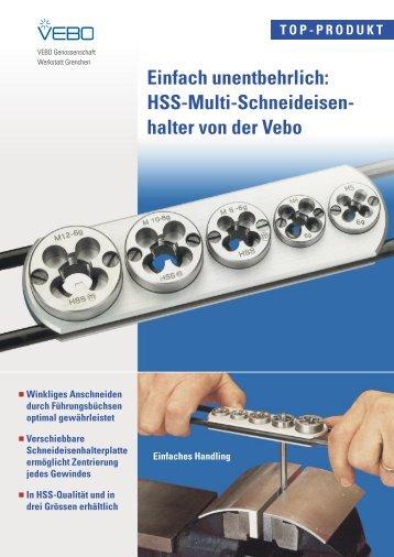 HSS-Multi-Schneideisen- halter von der Vebo - Vebo Grenchen