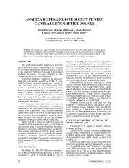 analiza de fezabiliate si cost pentru centrale energetice solare - Agir