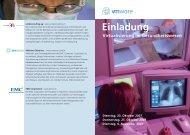 Einladung Virtualisierung im Gesundheitswesen - uniQconsulting ag