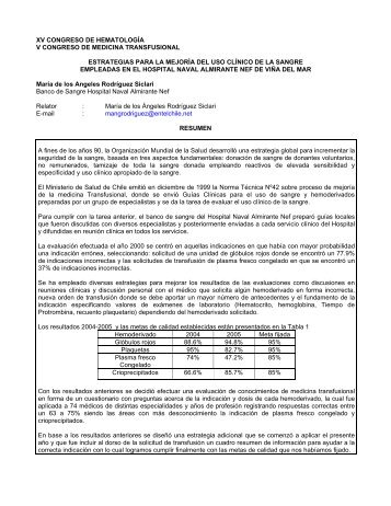 XXIV CONGRESO CHILENO DE REUMATOLOGIA - Sociedad ...