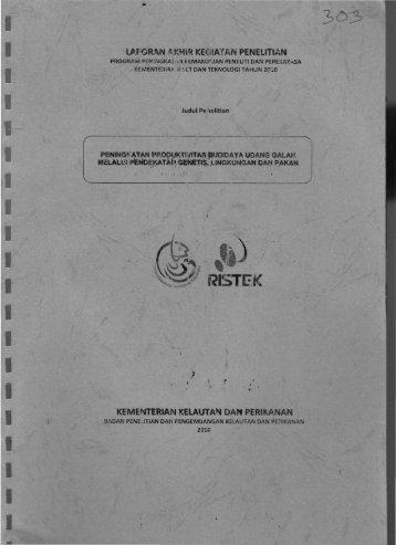 "r "" - Kementerian Riset dan Teknologi"