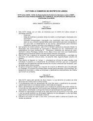 CCT PARA O COMÉRCIO DO DISTRITO DE LISBOA - VectWeb SM