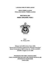 Kimia Organik Fisis I