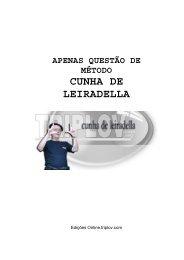 CUNHA DE LEIRADELLA - TriploV