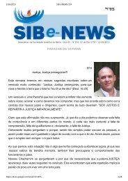 SIB e-NEWS 224 - Arquivo Histórico Judaico Brasileiro