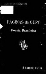 Paginas de ouro da poesia brasileira [microform] - University Library ...