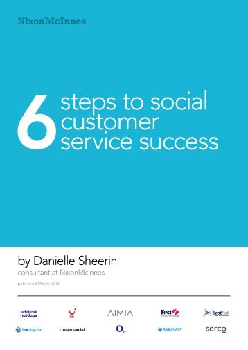 steps to social customer service success