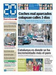 Coches mal aparcados colapsan calles 3 días - 20 Minutos
