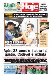 Após 33 anos e inativa há quatro, Codevel é extinta - Jornal Hoje