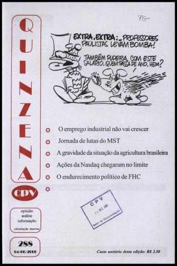 IJ I N Z E N - Centro de Documentação e Pesquisa Vergueiro