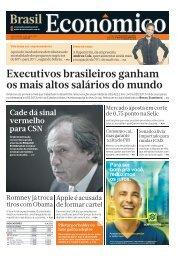 Executivos brasileiros ganham os mais altos ... - Brasil Econômico
