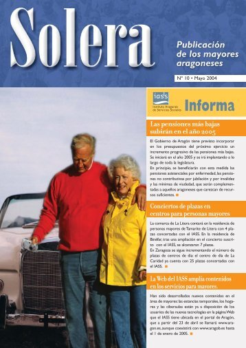 Revista nº 10 - Instituto Aragonés de Servicios Sociales - Gobierno ...