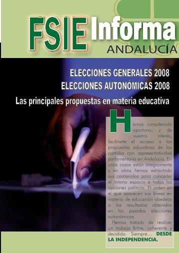 elecciones autonómicas - Fsie