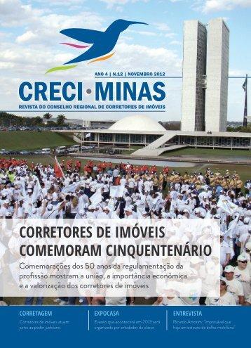 corretores de imóveis comemoram cinquentenário - Creci MG