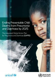 Ending Preventable Child Deaths from Pneumonia and Diarrhoea by 2025