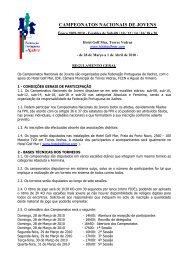 CAMPEONATOS NACIONAIS DE JOVENS - Academia de Xadrez ...
