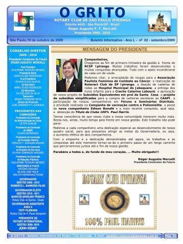 Boletim 02.pub - Rotary Club Sant Pol
