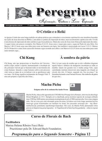 À sombra da pátria - Curso de Florais de Bach