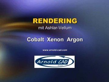 RENDERING RENDERING - Ashlar Vellum CAD Software