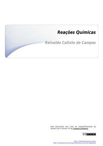 Reações Químicas - CCEAD PUC-Rio