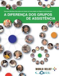 A Diferença dos Grupos de Assistência - CORE Group