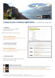 Register your holiday packages register-new-gb - Mountain Bike ...