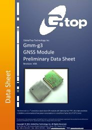 GlobalTop-Gmm-g3-Preliminary Datasheet-V0A - FTP Directory Listing
