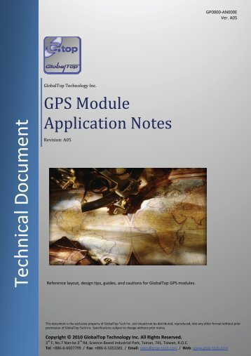 GPS Module Application Notes