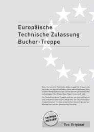 Europäische Technische Zulassung - Treppenmeister