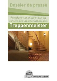 Remplacer son escalier - Treppenmeister