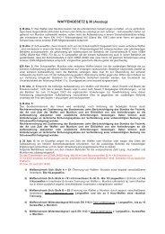 WAFFENGESETZ § 36 (Auszug) - Tresor Dornig.de