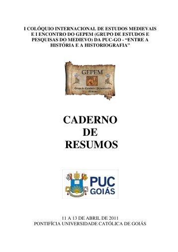 Caderno de resumos completo - Ucg