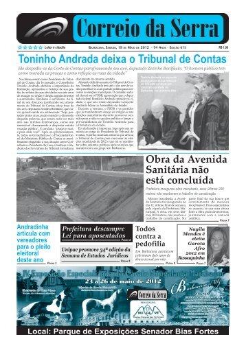 Número 675.pmd - Jornal Correio da Serra