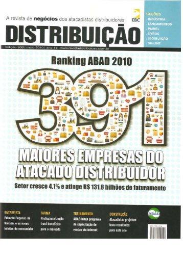 Revista Vitrine do Varejo - Edição Maio -2010 - O Vendedor Pit Bull