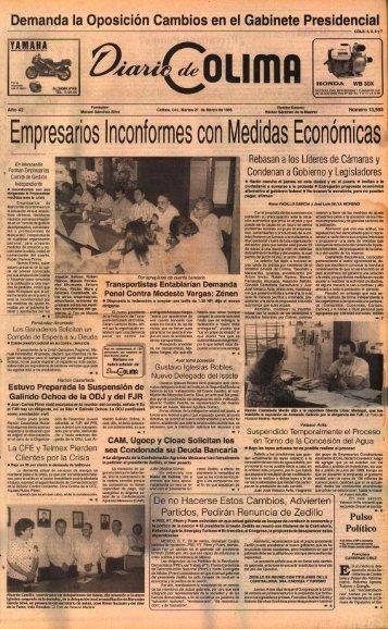 Empresarios Inconformes con Medidas Económicas