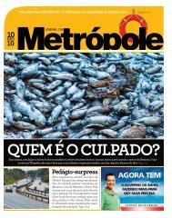 Pedágio-surpresa - Jornal da Metrópole