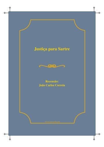 Justiça para Sartre - LusoSofia