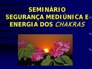 Seminário - Segurança Mediúnica e Energia dos Chakras - Espiritizar