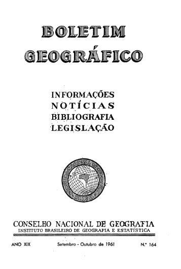 Boletim Geográfico v19 n164 - Biblioteca