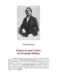 Esboço de uma Crítica da Economia Política - Curso Independente ...