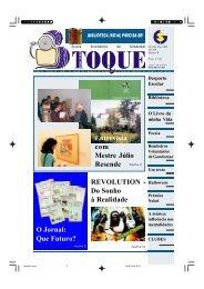 O Jornal: Que Futuro? Entrevista com Mestre Júlio ... - Jornal 3º Toque