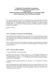 Immobilienfonds 2 - Treukapital GmbH