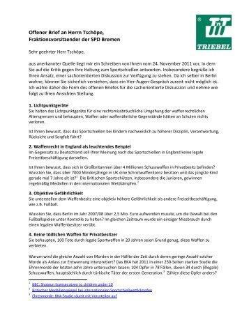 Offener Brief Der Gal Fraktionsvorsitzenden Zum Erhalt Der Ir